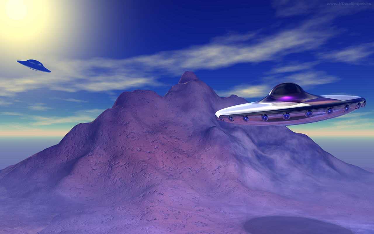 3d Ufo Wallpaper Hd  Click To View