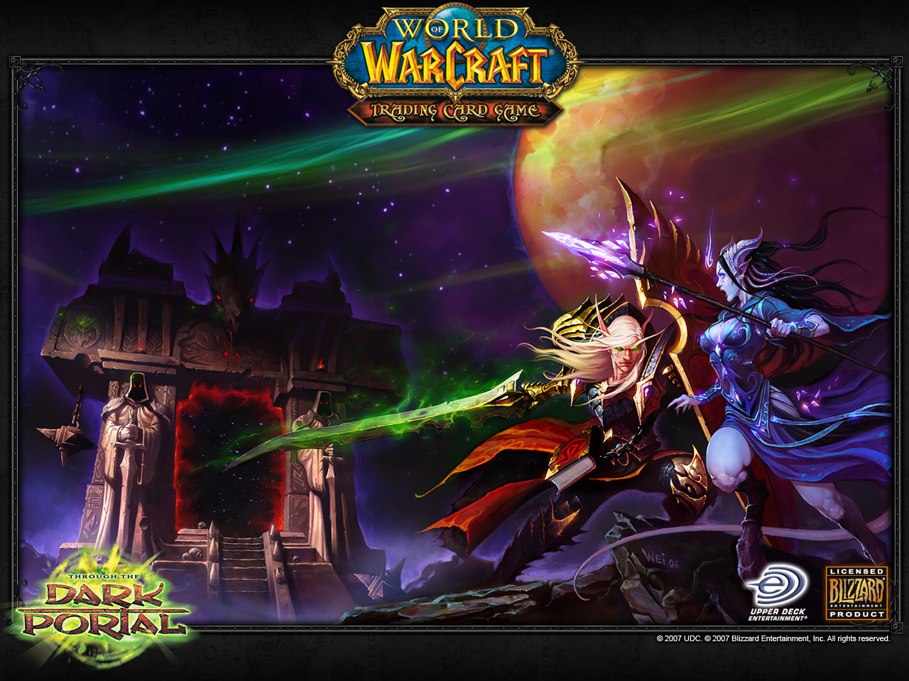 World of Warcraft TCG HD wallpapers all free in 3D render
